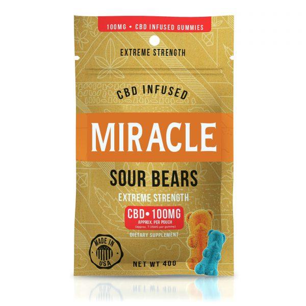 Miracle Gummies - CBD Infused Sour Bears