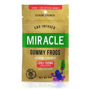 Miracle Gummies - CBD Infused Frogs