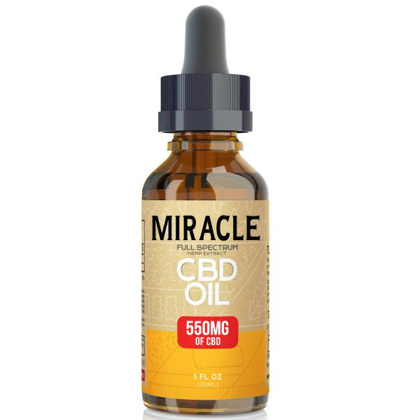 Miracle Full Spectrum CBD Oil - 550mg
